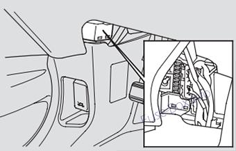 Acura MDX (YD1; 2001-2006) < Fuse Box diagram