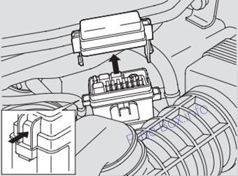 Fuse Box Diagram Acura Mdx Yd1 2001 2006