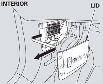 Acura Mdx Yd on 2007 acura mdx fuse box diagram