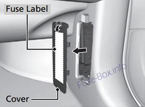 Acura MDX (YD3; 2014-2018) < Fuse Box diagram