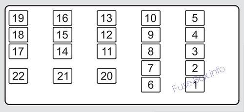 fuse box diagram  u0026gt  acura tl  ua8  ua9  2009