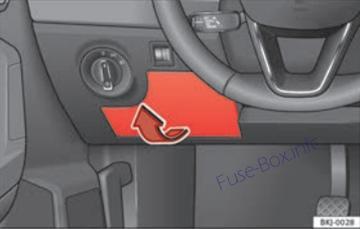 Fuse    Box       Diagram      SEAT Ia  Mk5  20172019