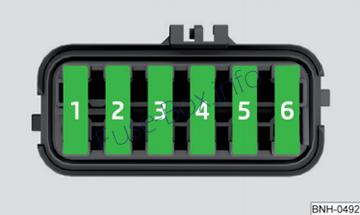 Under-hood fuse box diagram: Skoda Citigo(2016, 2017, 2018)
