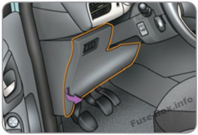 Fuse Box Diagram Citroën C3 (2009-2016) | Citroen C3 Fuse Box Removal |  | Fuse-Box.info