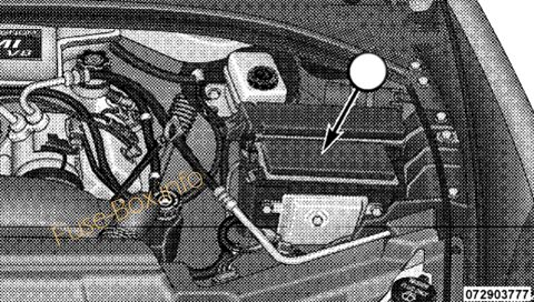 Fuse Box Diagram Dodge Durango (2004-2009)