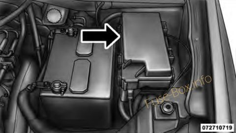 Dodge Grand Caravan 2008 2010 Fuse Box Diagram