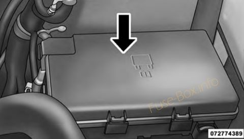 Fuse Box Diagram Dodge Ram Pickup 1500 2500 3500 2009 2018