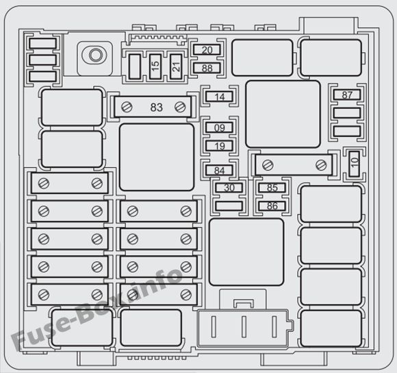 fuse box diagram  u0026gt  fiat punto  2013