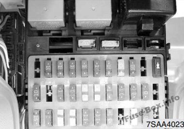 kia picanto fuse box layout kia picanto (sa; 2004-2007) kia picanto fuse box location #3
