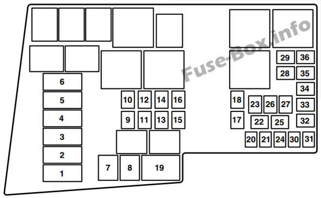 Fuse Box Diagram  U0026gt  Mazda 3  Bk  2003