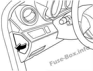 Mazda 3 (BL; 2010-2013) < Fuse Box diagram