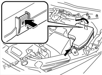 Mazda 3 bmbn 2014 2018 fuse box diagram fuse box in engine compartment asfbconference2016 Choice Image