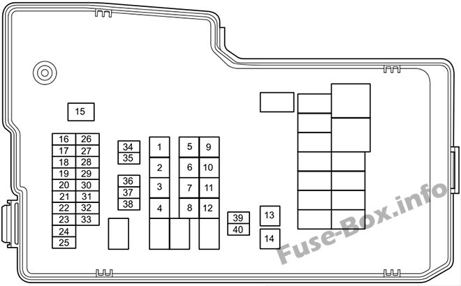 fuse box diagram mazda 5 2011 2018. Black Bedroom Furniture Sets. Home Design Ideas