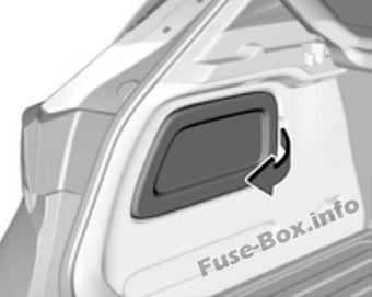 fuse box diagram opel vauxhall astra k 2016 2019. Black Bedroom Furniture Sets. Home Design Ideas