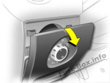 Opel/Vauxhall Corsa D (2006-2014) < Fuse Box diagram on