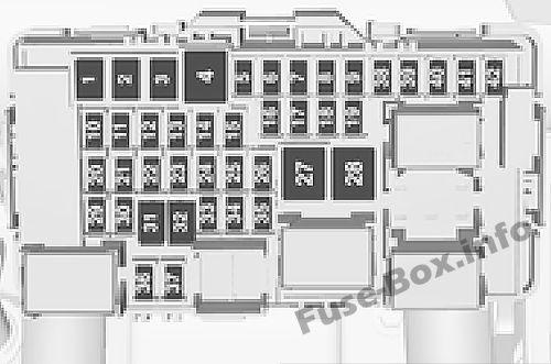 opel vauxhall insignia b (2018 ) \u003c fuse box diagram power box diagram fuse box diagram (instrument panel)