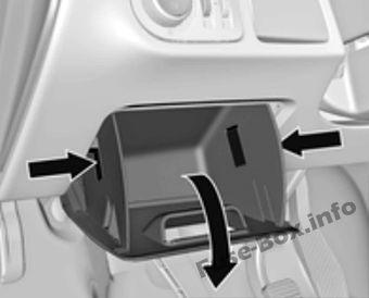 Fuse Box Diagram Gt Opel Vauxhall Meriva B 2011 2017