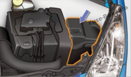Fuse Box Diagram > Peugeot 207 (2006-2014)