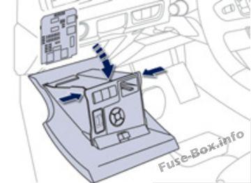 Fuse Box Diagram > Peugeot 508 (2011-2017)
