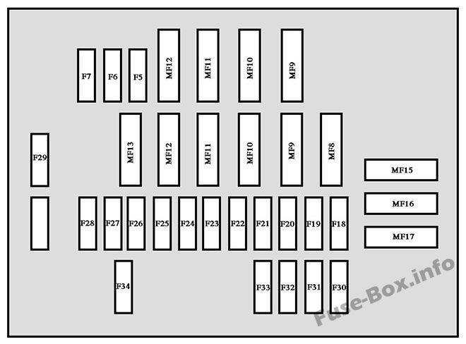 fuse box diagram peugeot 607 (2000-2010)  fuse-box.info