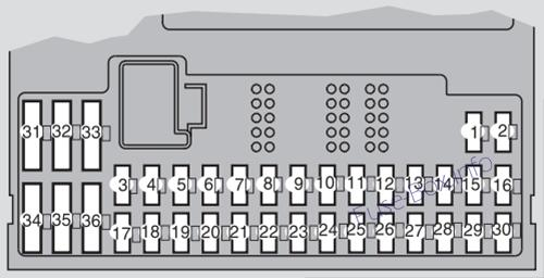 volvo s60 (2001 2009) \u003c fuse box diagram 2009 volkswagen jetta fuse box fuse box diagram (below the steering wheel)