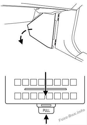 Fuse Box Diagram Ford Expedition U222 2003 2006