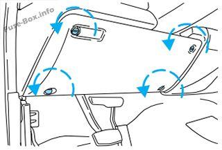 Fuse Box Diagram Ford F 250 F 350 F 450 F 550 2000 2003