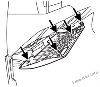 fuse box diagram ford f 250 f 350 f 450 f 550 2005 2007. Black Bedroom Furniture Sets. Home Design Ideas