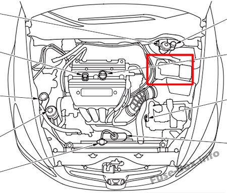 2007 honda accord fuse diagram honda accord (2003-2007) 1993 honda accord fuse diagram location #12