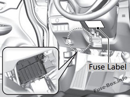 fuse box diagram honda fit gk 2015 2019. Black Bedroom Furniture Sets. Home Design Ideas