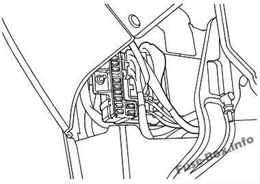 honda odyssey rl1 2000 2004 fuse box diagram 1999 Ford E250 Fuse Box Diagram driver s