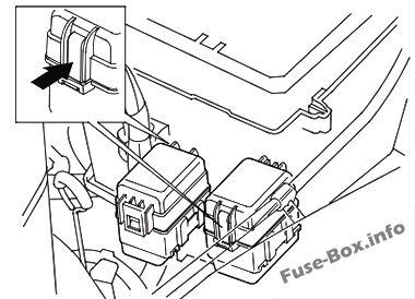 Fuse Box Diagram Honda Odyssey Rl1 2000 2004