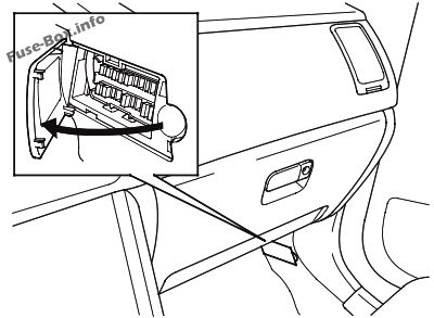 fuse box diagram  u0026gt  honda pilot  2003 2008