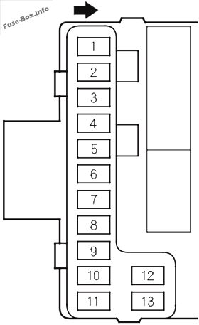 honda pilot (2003 2008) \u003c fuse box diagram 2008 honda pilot back glass  2008 honda pilot fuse box