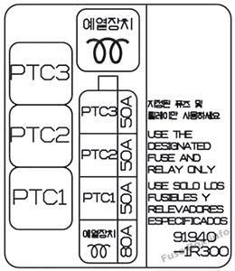 Fuse    Box    Diagram      Hyundai    Accent     RB     2011   2017