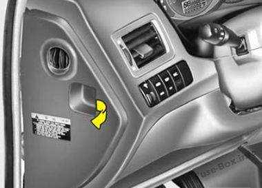 Fuse Box    Diagram      Hyundai Tucson  JM  20042009