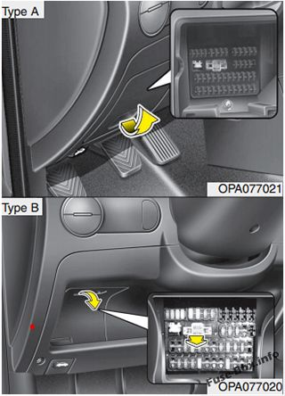 Fuse    Box       Diagram      Hyundai i10  20082013