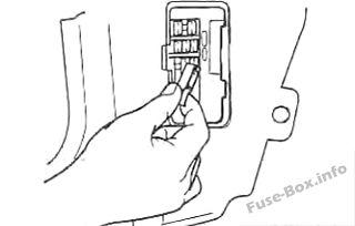 Fuse Box Diagram Kia Spectra Sephia 2001 2004