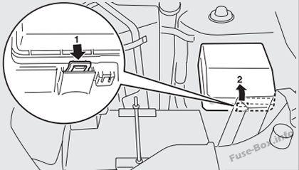 Fuse Box Diagram Mitsubishi Outlander (2007-2013)