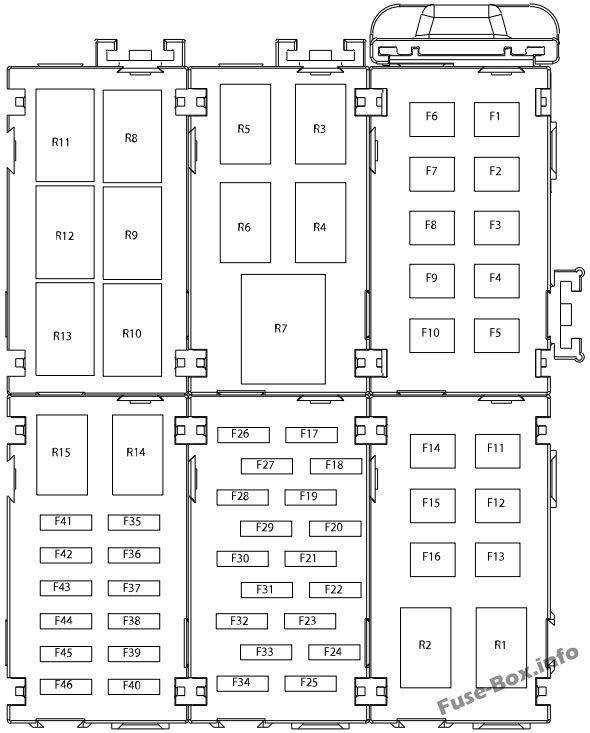 fuse box diagram ford fiesta 2014 2019. Black Bedroom Furniture Sets. Home Design Ideas