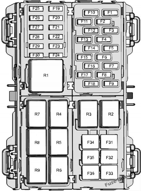 Fuse Box Diagram  U0026gt  Ford Fiesta  2014
