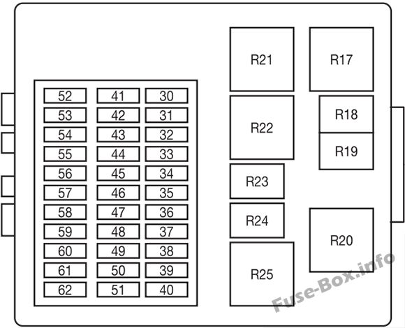 fuse box diagram  u0026gt  ford focus  1999 2007 2001 ford f-250 fuse diagram