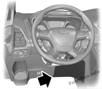 Fuse Box Diagram > Ford Transit (2015-2019  )
