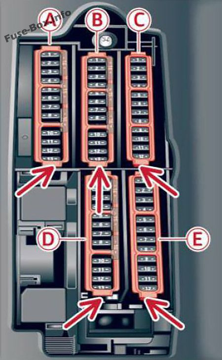 Fuse Box Diagram  U0026gt  Audi A4  S4  B9  8w  2017