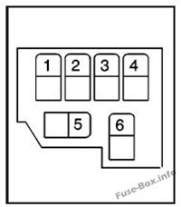 Relay Block C: GMC T6500, T7500, T8500 (2003, 2004, 2005, 2006, 2007, 2008, 2009, 2010)