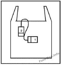 Relay Block D: GMC T6500, T7500, T8500 (2003, 2004, 2005, 2006, 2007, 2008, 2009, 2010)