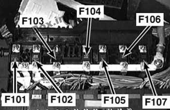 Fuse Box Diagram Bmw 3 Series E46 1998 2006