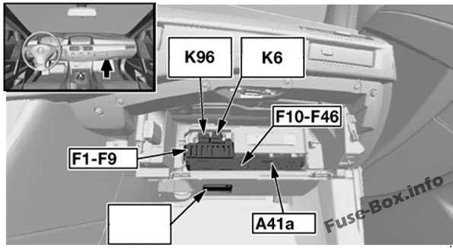 [EQHS_1162]  Fuse Box Diagram BMW 5-Series (E60/E61; 2003-2010) | 2008 Bmw 528i Fuse Box Diagram |  | Fuse-Box.info