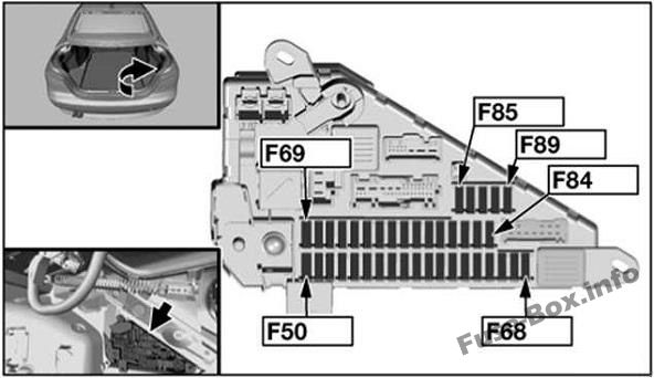 [SCHEMATICS_4JK]  Fuse Box Diagram BMW 5-Series (E60/E61; 2003-2010) | 2008 Bmw 525i Fuse Box Diagram |  | Fuse-Box.info