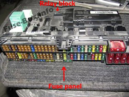 Fuse Box Diagram > BMW X5 (E53; 2000-2006)